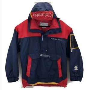 Vintage Columbia Ski Jacket Embroidered Spell Out